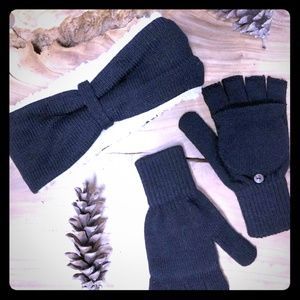 Bearpaw ear wrap & mittens